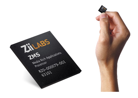 ZiiLABS ZMS-05 SoC (System-On-Chip)