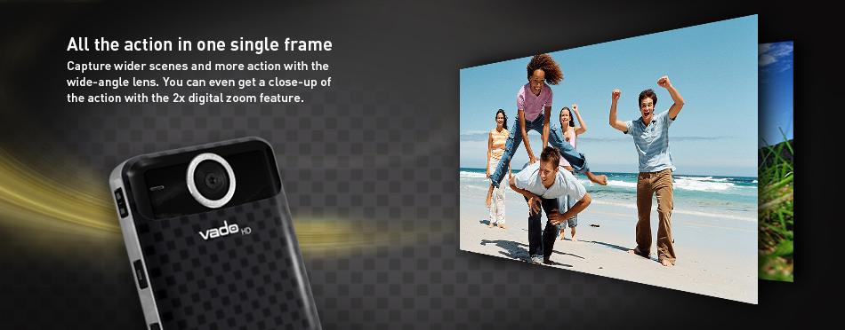 my vado capture life in high definition with the vado hd  3rd gen  pocket video cam Flip Mino HD Creative Labs Vado HD